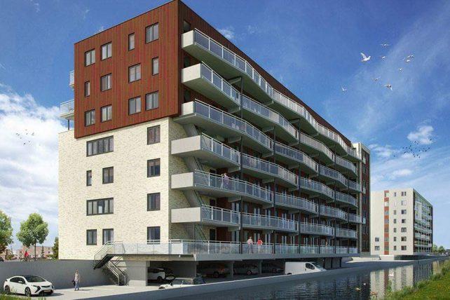 MBS Cascobouw verzorgt de prefab beton voor Le Coupé en L'Arrivée in Alpen aan den Rijn